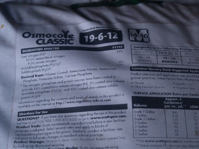 Osmocote classic CRF