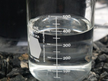Use 360 ml of water to pour-through a 3 gallon container to leach 50 ml