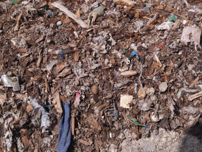 WastAway substrate (close-up) [Municipal solid waste compost (MSWC)]